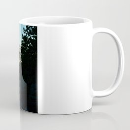 Silhouetted Coffee Mug