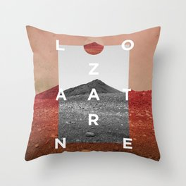 Lanzarote4 Throw Pillow