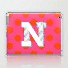 N is for Nice Laptop & iPad Skin