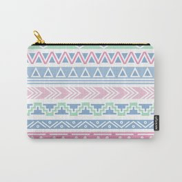 Boho Tribal Baby Pastel Nursery Decor, Pink, Blue, Green Carry-All Pouch