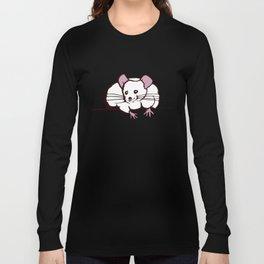 Fat mouse Long Sleeve T-shirt