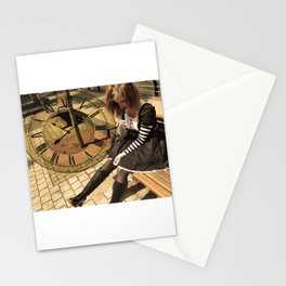 Clockwork lady Stationery Cards