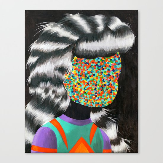 Beautiful Dreamer Anonima Canvas Print