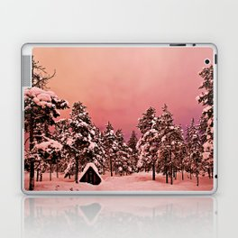 Magic of frozen forest Laptop & iPad Skin