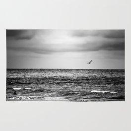 Stormy Beach Rug