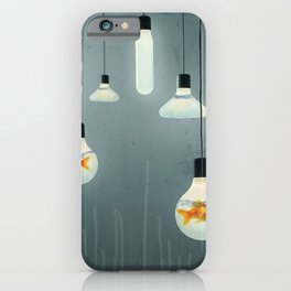 Ideas and Goldfish 04 iPhone Case