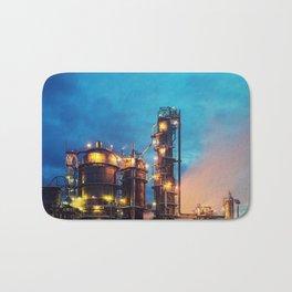 Oil Refinery Bath Mat