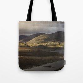 Clouds, Land, Water Tote Bag
