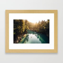 Hokitika Gorge Framed Art Print