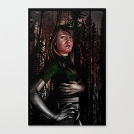 Phoenix Fire Canvas Print