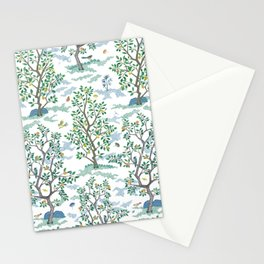 CitrusGrove Toile in White Stationery Cards