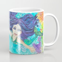 My Mermaid Friend Makielia Coffee Mug