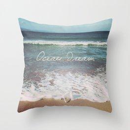 Ocean Dream V Throw Pillow