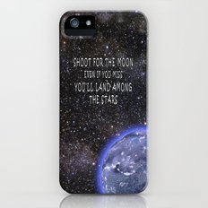 Shoot for the Moon Slim Case iPhone (5, 5s)