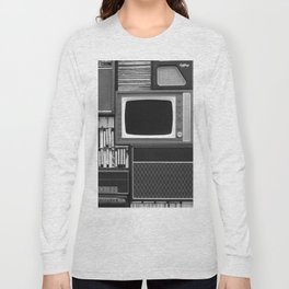 Everything Retro (Black and White) Long Sleeve T-shirt