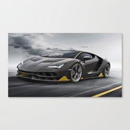 Centenario Exotic Car Canvas Print