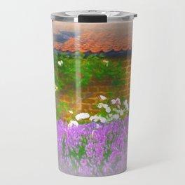 Lavender Cottage Travel Mug