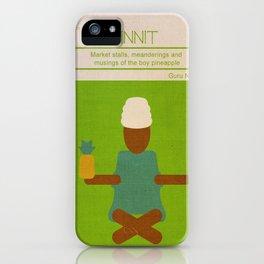 Boy Pineapple iPhone Case