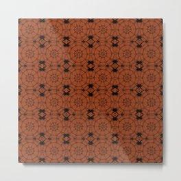 Potter's Clay Pinwheels Metal Print