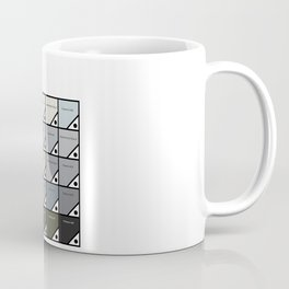 50 Shades of Grey - Pantone Not Porn Coffee Mug