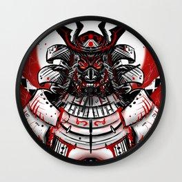 Samurai Artwork Wall Clock
