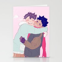 viria Stationery Cards featuring tiny iwaois by viria
