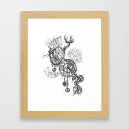 Steampunk home Framed Art Print
