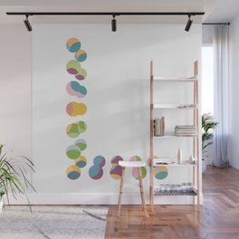L | Fun Colourful Bouncy Typography Wall Mural