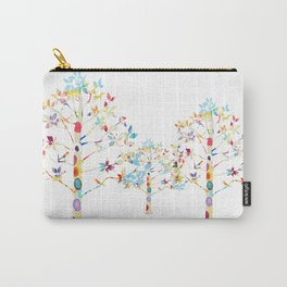 Color Tree Carry-All Pouch
