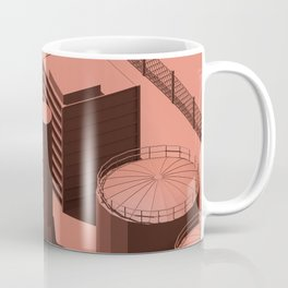 Low Poly Industry Coffee Mug
