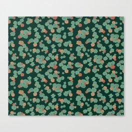 Succulents - Small Canvas Print