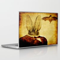 bat man Laptop & iPad Skins featuring Bat-Man by Joe Ganech