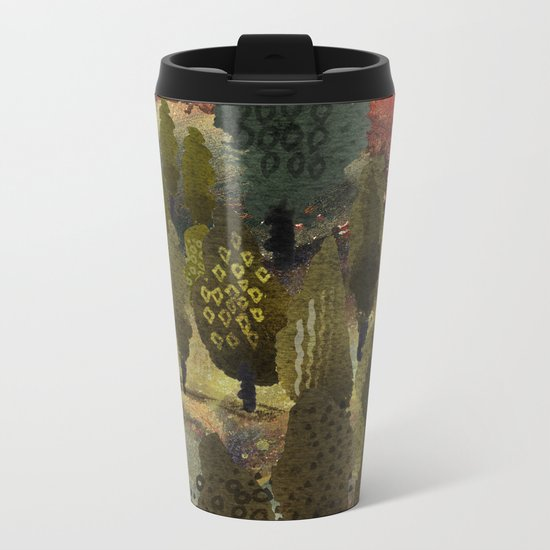 The hill. Metal Travel Mug