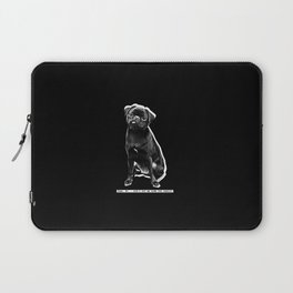 YEAH, NO. DON'T PUT ME DOWN FOR CARDIO Laptop Sleeve