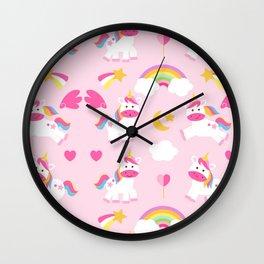 Unicorn Sweet Life Wall Clock
