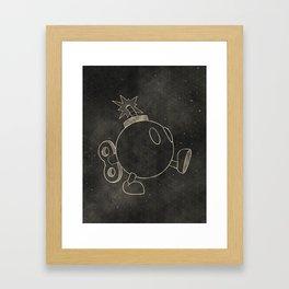 The Bomb Framed Art Print