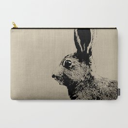 Hare brown Carry-All Pouch
