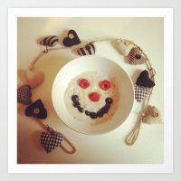 instagram Art Prints featuring Instagram by paulmobba