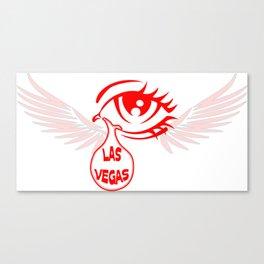 Pray for Las Vegas Canvas Print