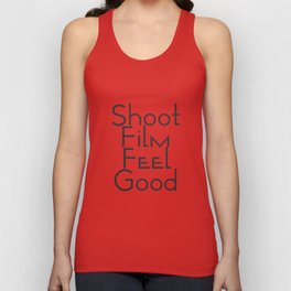 Shoot Film, Feel Good (Big) Unisex Tank Top