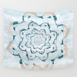 Dance of the dolphins Wall Tapestry