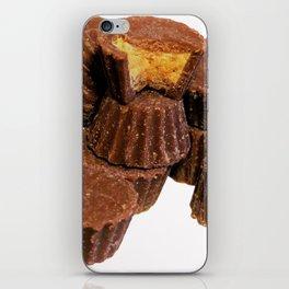 Mini Chocolate and Peanut Butter Treats iPhone Skin