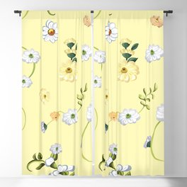 Spring Flowers, Nature 46 Blackout Curtain