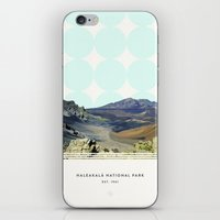 parks iPhone & iPod Skins featuring National Parks: Haleakalā by Roadtrippers