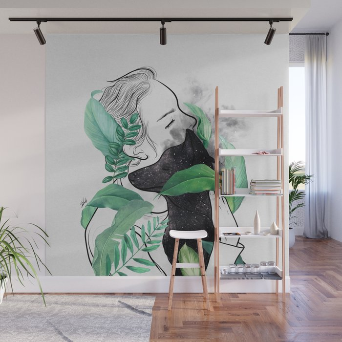 Rain forest. Wall Mural
