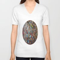 confetti V-neck T-shirts featuring Confetti by Atziri
