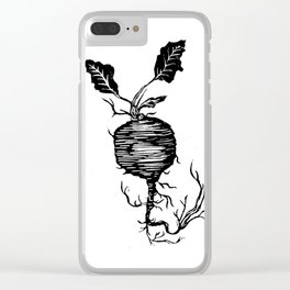Beets by Cay Clear iPhone Case