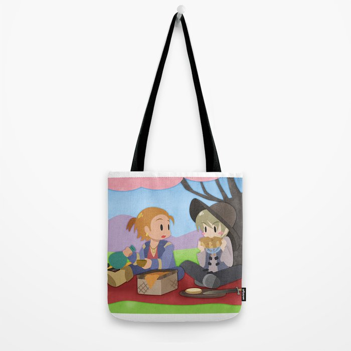 Dragon Age - Varric and Cole Picnic Tote Bag