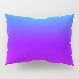 Blue/Pink Gradient Pillow Sham