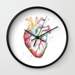 Human Heart Wall Clock
